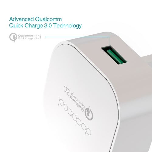 [Qualcomm Quick Charge 3.0] dodocool Quick Charge 3.0 18W USB Wall Charger for LG G5 / HTC One A9 / Sony Xperia Z4 Tablet / XiaomiCellphone &amp; Accessories<br>[Qualcomm Quick Charge 3.0] dodocool Quick Charge 3.0 18W USB Wall Charger for LG G5 / HTC One A9 / Sony Xperia Z4 Tablet / Xiaomi<br>