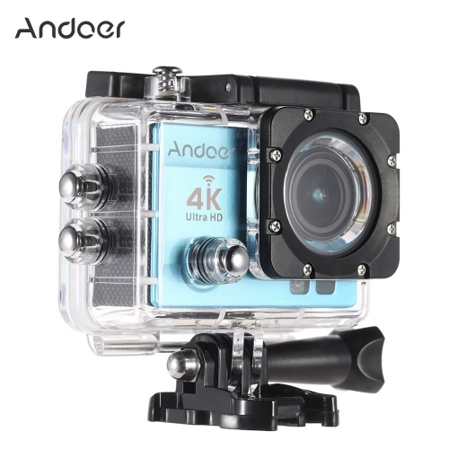 Andoer Q3H 170°Wide Angle 4K Ultra HD 25FPS 1080P 60FPS Wifi Action CameraCameras &amp; Photo Accessories<br>Andoer Q3H 170°Wide Angle 4K Ultra HD 25FPS 1080P 60FPS Wifi Action Camera<br>