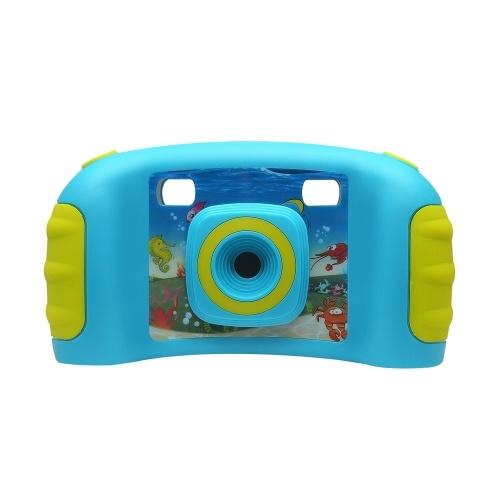 Caméra de jeu vidéo pour enfants Caméra d'action numérique 5MP Caméra vidéo de sport DV avec écran LCD de 1,8 pouces rose