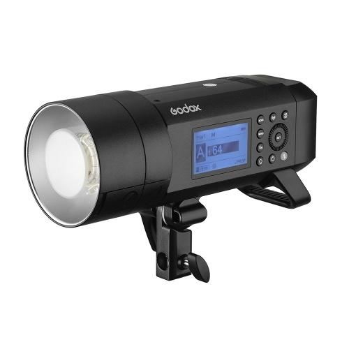 Godox WITSRO AD400Proオールインワン屋外フラッシュライトスピードライトTTLオートフラッシュGN72 1 / 8000s HSS 2.4GワイヤレスXシステム内蔵リチウム電池