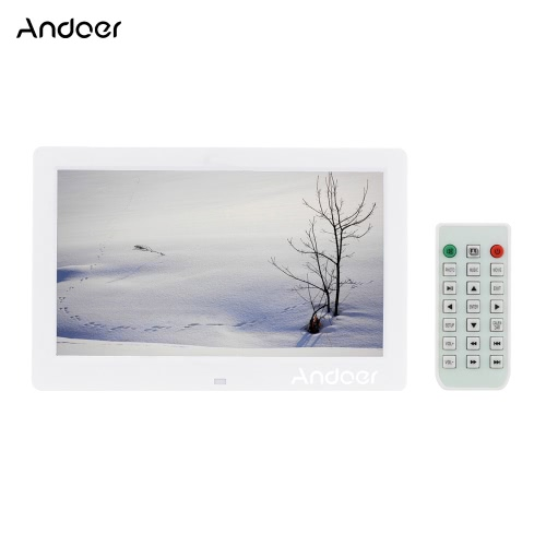 10.1 HD Wide Screen High Resolution Digital Photo Picture Frame Alarm Clock MP3 MP4 Movie Player with Remote Control Christmas GiCameras &amp; Photo Accessories<br>10.1 HD Wide Screen High Resolution Digital Photo Picture Frame Alarm Clock MP3 MP4 Movie Player with Remote Control Christmas Gi<br>