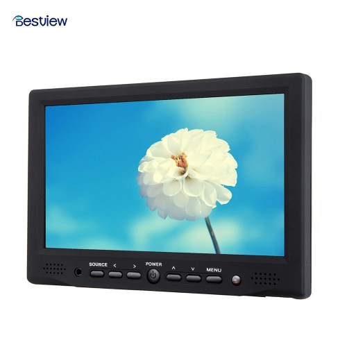Bestview 7 Digital Field LCD 800*480 High-definition Monitor 400cd/m2 HD Input for DSLR Full HD CameraCameras &amp; Photo Accessories<br>Bestview 7 Digital Field LCD 800*480 High-definition Monitor 400cd/m2 HD Input for DSLR Full HD Camera<br>