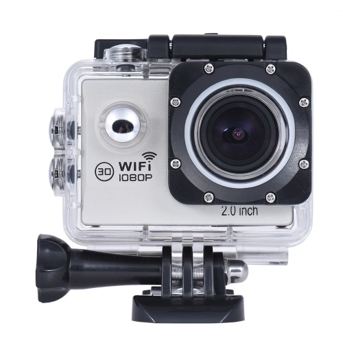 Action Camera 1080P FHD Novatek NTK96655 WiFi Waterproof LCD Wide Angle Bicycle Helmet Sports Camcorder Car DVRCameras &amp; Photo Accessories<br>Action Camera 1080P FHD Novatek NTK96655 WiFi Waterproof LCD Wide Angle Bicycle Helmet Sports Camcorder Car DVR<br>