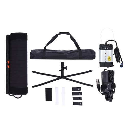 FalconEyes RX-12T 34W 423pcs LED Beads Slim Fill-in Foldable Rollable Roll-up 5600K LED Camera Photography Light Lamp for Studio VCameras &amp; Photo Accessories<br>FalconEyes RX-12T 34W 423pcs LED Beads Slim Fill-in Foldable Rollable Roll-up 5600K LED Camera Photography Light Lamp for Studio V<br>
