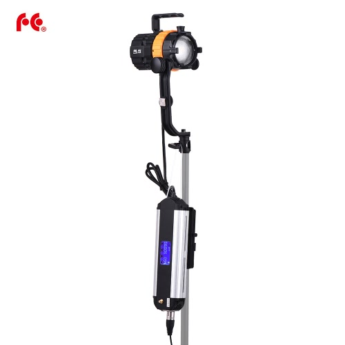 FalconEyes Pulsar5 50W 5600K Mini LED Spotlight Focusable Dimmable Fanless with 4-Leaf Barn Door/Separated Control/BagCameras &amp; Photo Accessories<br>FalconEyes Pulsar5 50W 5600K Mini LED Spotlight Focusable Dimmable Fanless with 4-Leaf Barn Door/Separated Control/Bag<br>