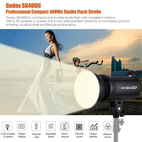 Godox SK400II Studio Flash Strobe LightCameras &amp; Photo Accessories<br>Godox SK400II Studio Flash Strobe Light<br>