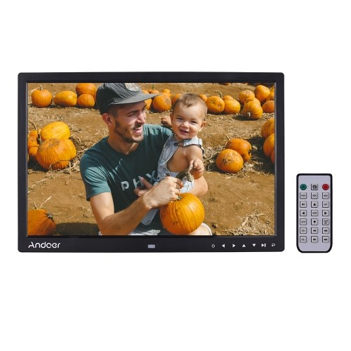 Andoer Upgraded 17 Inch LED Digital Photo Frame