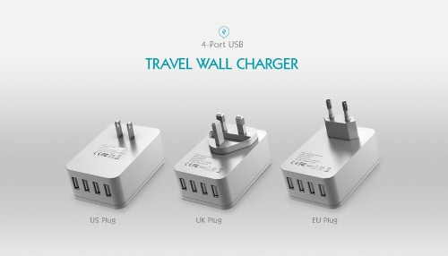 dodocool 20W 4A Smart 4 USB Charging Port Portable Multi-function Travel Power Adapter Wall Charger with Universal AC Outlet US PlCellphone &amp; Accessories<br>dodocool 20W 4A Smart 4 USB Charging Port Portable Multi-function Travel Power Adapter Wall Charger with Universal AC Outlet US Pl<br>