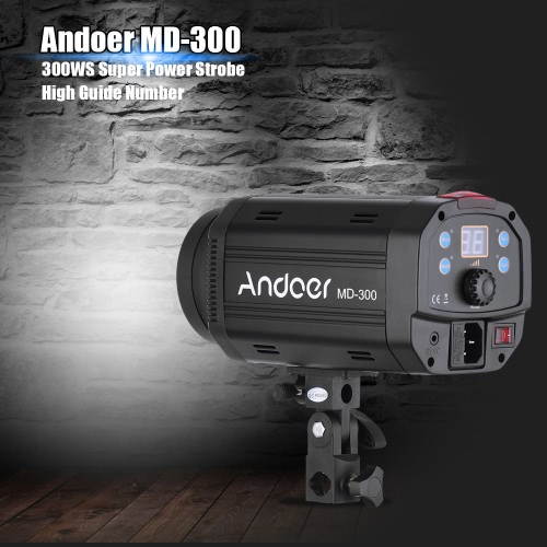 Andoer MD-300 900W (300W * 3) Studio Strobe Flash Light KitCameras &amp; Photo Accessories<br>Andoer MD-300 900W (300W * 3) Studio Strobe Flash Light Kit<br>