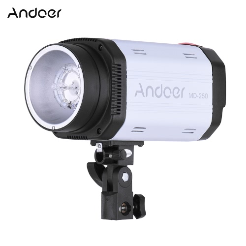 Andoer MD-250 250WS GN50 Studio Photo Strobe Flash Photography Speedlight Lamp for Studio Portrait Certificate ShootingCameras &amp; Photo Accessories<br>Andoer MD-250 250WS GN50 Studio Photo Strobe Flash Photography Speedlight Lamp for Studio Portrait Certificate Shooting<br>