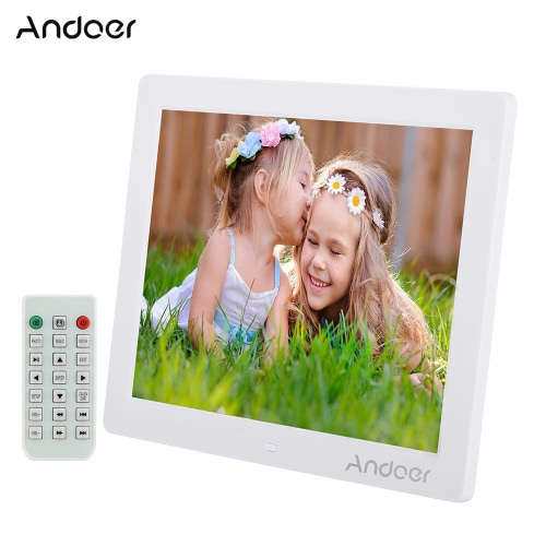 Andoer 12 HD LED Digital Photo Picture Frame 800 * 600 MP4 MP3 Movie Player E-book Clock Calender with Remote Control Christmas GCameras &amp; Photo Accessories<br>Andoer 12 HD LED Digital Photo Picture Frame 800 * 600 MP4 MP3 Movie Player E-book Clock Calender with Remote Control Christmas G<br>