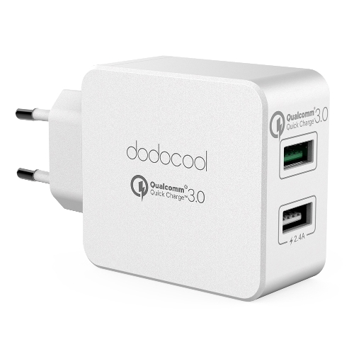 dodocool 30W Dual USB Wall Charger with Quick Charge 3.0Power AdapterCellphone &amp; Accessories<br>dodocool 30W Dual USB Wall Charger with Quick Charge 3.0Power Adapter<br>