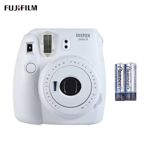 Fujifilm Instax Mini 9 Instant Camera Film Cam with Selfie Mirror 2pcs Battery, Ice BlueCameras &amp; Photo Accessories<br>Fujifilm Instax Mini 9 Instant Camera Film Cam with Selfie Mirror 2pcs Battery, Ice Blue<br>