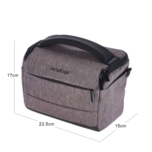 Andoer Cuboid-shaped Portable Fashion Polyester Camera CaseCameras &amp; Photo Accessories<br>Andoer Cuboid-shaped Portable Fashion Polyester Camera Case<br>