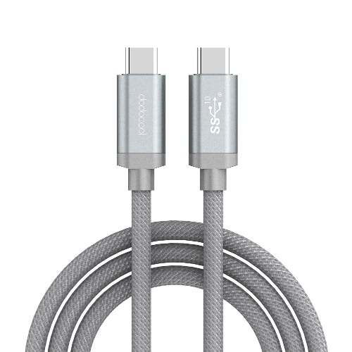 dodocool USB-IF Certified 3.3ft / 1m Nylon Braided USB-C to USB-C Male Cable with E-marker USB 3.1 Type-C Charge and Data Sync forCellphone &amp; Accessories<br>dodocool USB-IF Certified 3.3ft / 1m Nylon Braided USB-C to USB-C Male Cable with E-marker USB 3.1 Type-C Charge and Data Sync for<br>
