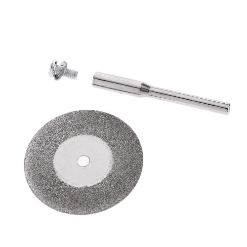 10pcs 25/30/40mm Diamond Coated Grinding 3mm Inner Diameter Disc Rotary Blades Cutting Wheel Slice for Dremel Electric   Grinder wTest Equipment &amp; Tools<br>10pcs 25/30/40mm Diamond Coated Grinding 3mm Inner Diameter Disc Rotary Blades Cutting Wheel Slice for Dremel Electric   Grinder w<br>