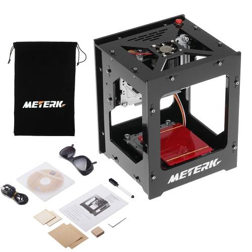Meterk DK-BL 1500mW Mini DIY Máquina de Gravura do Laser