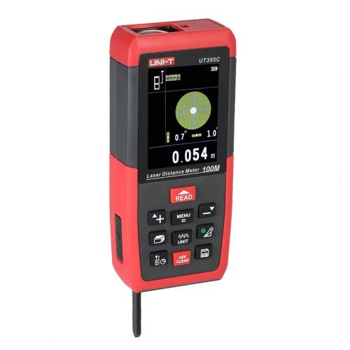 UNI-T UT395A 50m/164ft Handheld LCD Digital Laser Distance Meter Range Finder Diastimeter Distance Area Volume Measurement m/in/ftTest Equipment &amp; Tools<br>UNI-T UT395A 50m/164ft Handheld LCD Digital Laser Distance Meter Range Finder Diastimeter Distance Area Volume Measurement m/in/ft<br>