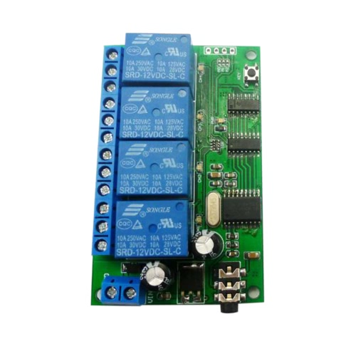 The New 4CH DTMF Audio Decoding Relay Control Instructions Can Modify the Remote Control ModuleTest Equipment &amp; Tools<br>The New 4CH DTMF Audio Decoding Relay Control Instructions Can Modify the Remote Control Module<br>