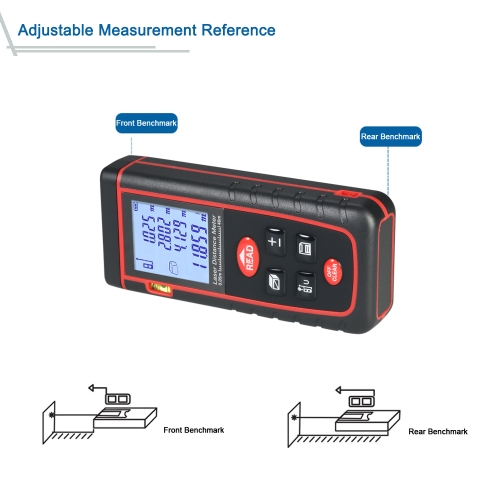 40m Mini Handheld LCD Digital Laser Distance Meter High-precision Rangefinder Distance Area Volume Measurement 30 Groups Data StorTest Equipment &amp; Tools<br>40m Mini Handheld LCD Digital Laser Distance Meter High-precision Rangefinder Distance Area Volume Measurement 30 Groups Data Stor<br>