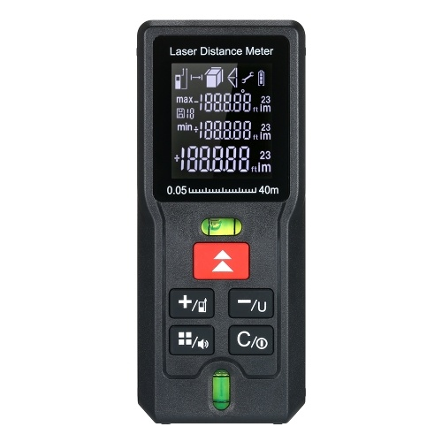 Mini Portable Finder MD100 100M del misuratore di distanza del laser digitale tenuto in mano