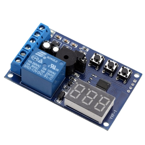 Charging Discharge Voltage Monitor Test Relay Switch Control Board Module DC 12VTest Equipment &amp; Tools<br>Charging Discharge Voltage Monitor Test Relay Switch Control Board Module DC 12V<br>