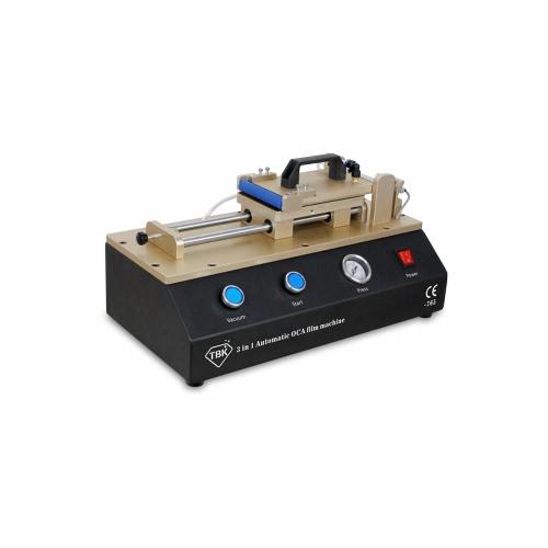 3 em 1 prático automático do telefone móvel de vidro OCA filme estratificação máquina bomba de vácuo interna ar Compressor AC100-240V