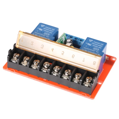 2-channel 250VAC 30A Solid State Relay Module Board High/Low Level TriggerTest Equipment &amp; Tools<br>2-channel 250VAC 30A Solid State Relay Module Board High/Low Level Trigger<br>