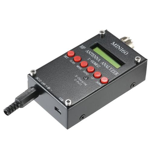 Mini60 Antenna Analyzer Meter 1-60MHz SARK100 AD9851 HF ANT SWR for Ham Radio HobbistsTest Equipment &amp; Tools<br>Mini60 Antenna Analyzer Meter 1-60MHz SARK100 AD9851 HF ANT SWR for Ham Radio Hobbists<br>