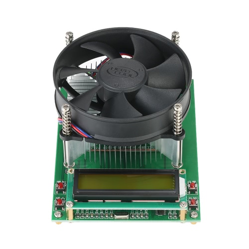 150W Constant Current Electronic Load 60V 10A Battery Discharge Capacity Tester Module with 1602 LCD DisplayTest Equipment &amp; Tools<br>150W Constant Current Electronic Load 60V 10A Battery Discharge Capacity Tester Module with 1602 LCD Display<br>