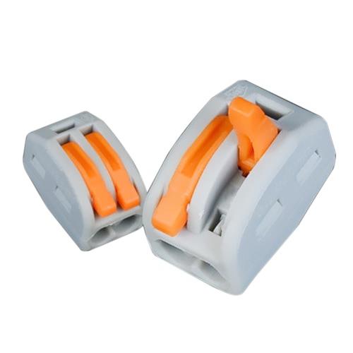 Connecteur de fil rapide Connecteurs de câblage compact Universal Junction PCT-213 De nombreux modèles pour choisir 20pcs 2/3/5 Way Electric Cable Box