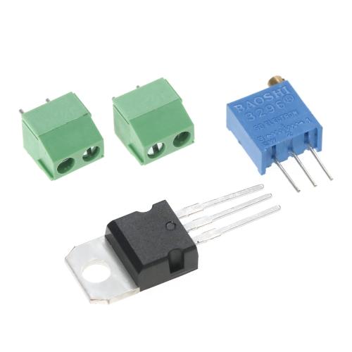 LM317 1.25V-22V Continuously Adjustable Regulated Voltage Power Supply Step-down Module Input AC18V DIY KitTest Equipment &amp; Tools<br>LM317 1.25V-22V Continuously Adjustable Regulated Voltage Power Supply Step-down Module Input AC18V DIY Kit<br>