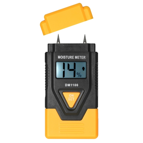Mini 3 in 1 LCD Digital Wood Building Materials Moisture Meter Humidity Tester Detector with Ambient Temperature MeasurementTest Equipment &amp; Tools<br>Mini 3 in 1 LCD Digital Wood Building Materials Moisture Meter Humidity Tester Detector with Ambient Temperature Measurement<br>