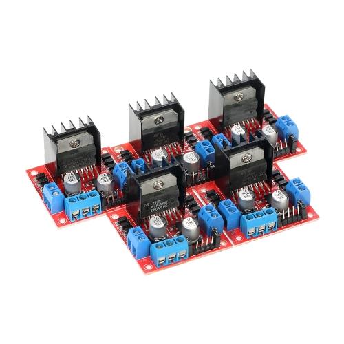 5pcs L298N Dual H Bridge DC Stepper Motor Drive Controller Board ModuleTest Equipment &amp; Tools<br>5pcs L298N Dual H Bridge DC Stepper Motor Drive Controller Board Module<br>