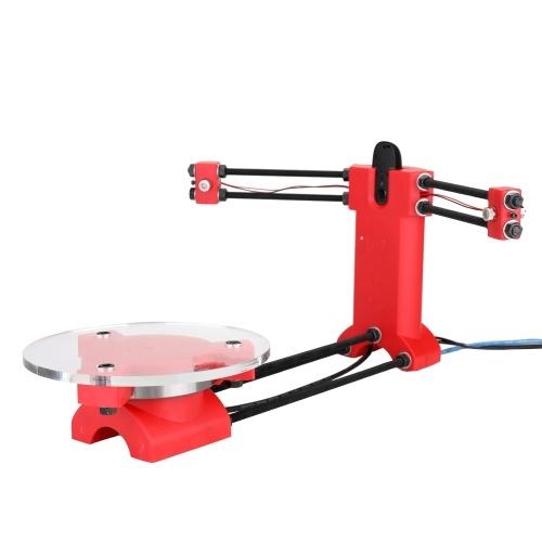 Escáner de código abierto 3D DIY Escáner de código abierto de alta precisión Kit básico de escáner