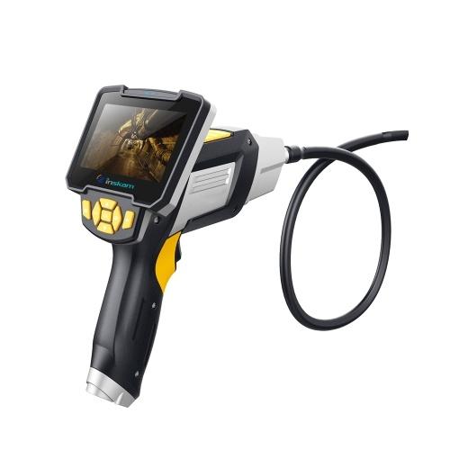 inskam112 endoscópio Handheld 1meter da tela de exposição de 4,3 polegadas