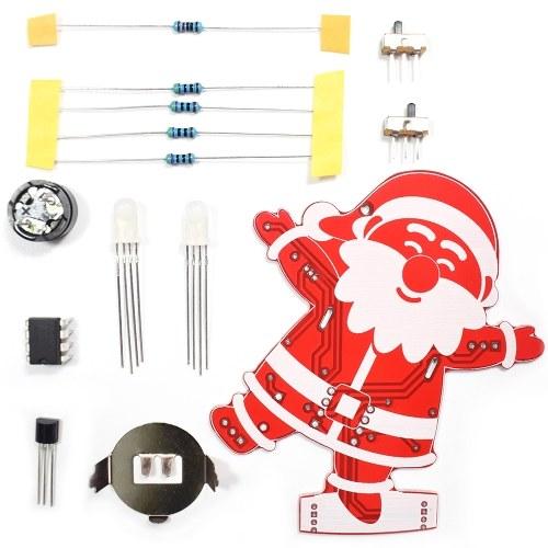 DIYサンタクロースクリスマスデコレーション装飾音楽キット1セット