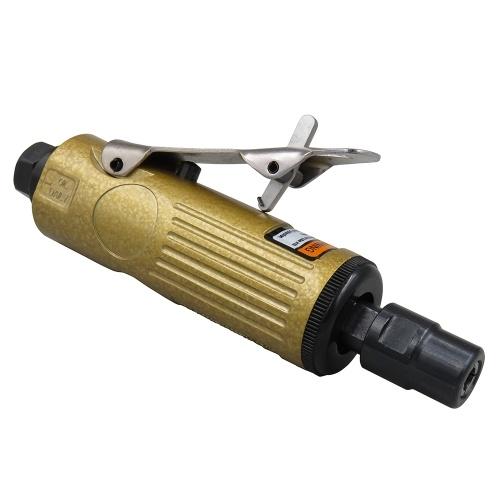 KP-620 Druckluft-Schleifer 1/4 Zoll Pneumatischer Winkel-Stabschleifer-Werkzeug Winkelschleifmaschine Luftschraubendreher für die Holzbearbeitung