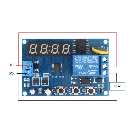 Multifunction Delay Time Relay Module Timing Switch Control Cycle Timer DC 24VTest Equipment &amp; Tools<br>Multifunction Delay Time Relay Module Timing Switch Control Cycle Timer DC 24V<br>
