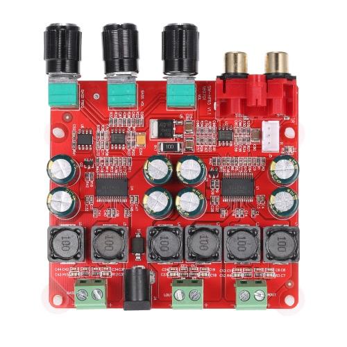 TPA3118 2.1チャンネルデジタルステレオサブウーファーパワーアンプボード2 * 30W + 60W DC12V-26V