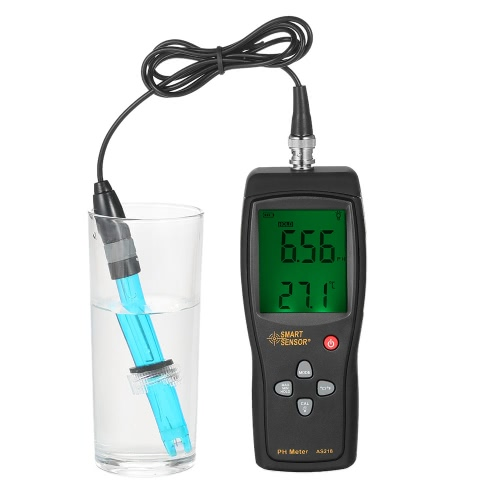 SMART SENSOR Professional High Precision Portable pH Meter for Aquarium Acidimeter Water Quality Monitor Water Quality Analyzer pHTest Equipment &amp; Tools<br>SMART SENSOR Professional High Precision Portable pH Meter for Aquarium Acidimeter Water Quality Monitor Water Quality Analyzer pH<br>