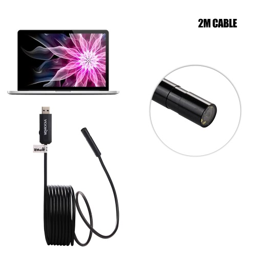 KKmoon 8.5mm USB Endoscope Waterproof USB2.0 Handheld HD Borescope Inspection Camera 2.0 Megapixel CMOS with 6pcs Adjustable LED LTest Equipment &amp; Tools<br>KKmoon 8.5mm USB Endoscope Waterproof USB2.0 Handheld HD Borescope Inspection Camera 2.0 Megapixel CMOS with 6pcs Adjustable LED L<br>