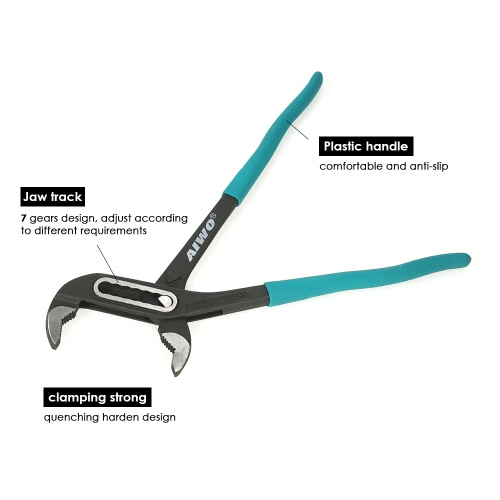 12 Tongue and Groove Joint Pliers 4.3 Jaw Capacity Professional PliersTest Equipment &amp; Tools<br>12 Tongue and Groove Joint Pliers 4.3 Jaw Capacity Professional Pliers<br>