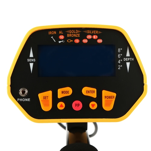 Fully Automatic Metal Detector with LCD Display Treasure Hunter Sensitive Search Gold DiggerTest Equipment &amp; Tools<br>Fully Automatic Metal Detector with LCD Display Treasure Hunter Sensitive Search Gold Digger<br>