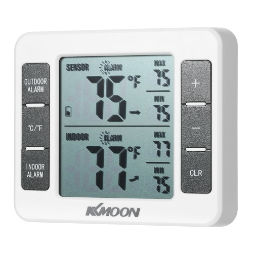 KKmoon Mini LCD Digital Thermometer Temperature Meter 0??50? with Measurement ?/? Max Min Value DisplayTest Equipment &amp; Tools<br>KKmoon Mini LCD Digital Thermometer Temperature Meter 0??50? with Measurement ?/? Max Min Value Display<br>
