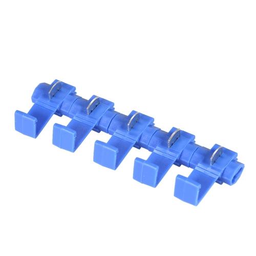 100PCSブルースコッチロック16-14AWGコネクタ電気ワイヤケーブル絶縁クイックスプライス圧着端子