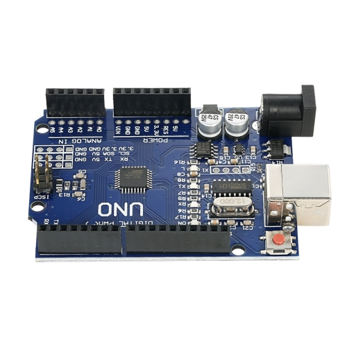 1-pack UNO R3 ATmega328P CH340 USB Board Development Board Newly Improved VersionTest Equipment &amp; Tools<br>1-pack UNO R3 ATmega328P CH340 USB Board Development Board Newly Improved Version<br>