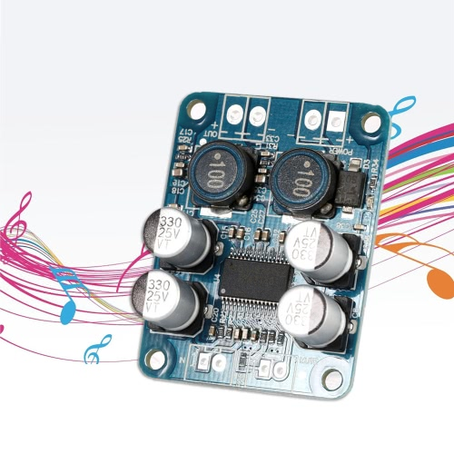 TPA3118 PBTL Mono Digital Amplifier Board Module 1*60W Power AMP DC 8-24VTest Equipment &amp; Tools<br>TPA3118 PBTL Mono Digital Amplifier Board Module 1*60W Power AMP DC 8-24V<br>