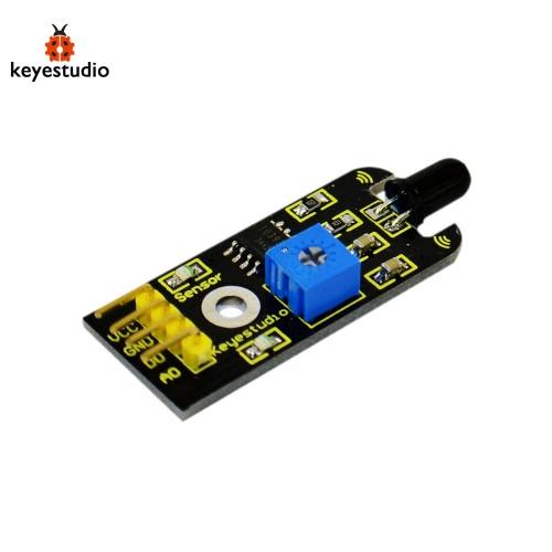 Brand New Keyestudio Flame Sensor Module For Arduino Compatible - Black + YellowTest Equipment &amp; Tools<br>Brand New Keyestudio Flame Sensor Module For Arduino Compatible - Black + Yellow<br>