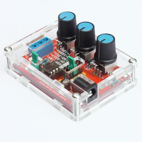 XR2206 High Precision Function Signal Generator DIY Kit Sine/Triangle/Square Output 1Hz-1MHz Adjustable Frequency AmplitudeTest Equipment &amp; Tools<br>XR2206 High Precision Function Signal Generator DIY Kit Sine/Triangle/Square Output 1Hz-1MHz Adjustable Frequency Amplitude<br>